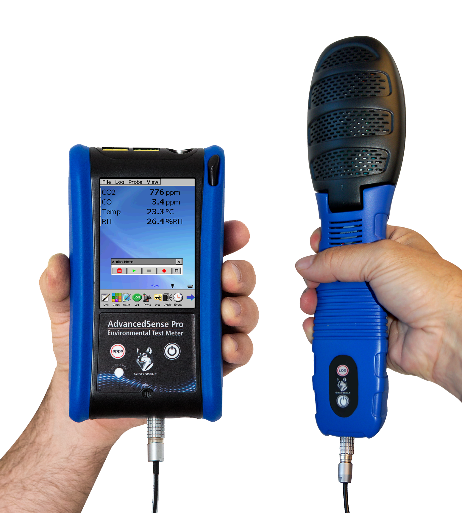 DirectSense® II User Configurable, Multi-Parameter IAQ and Toxic Gas Probes